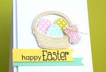 Kartki na Wielkanoc / Cards for Easter  / by Wanda Zamojska