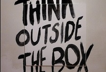 Think Outside the Box / by Candy Bouquet