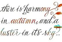 Autumn / by Valerie Manseau