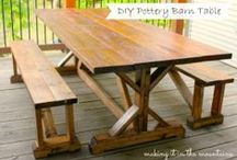 DIY: Furniture and Repurposing / by Jessica Opps