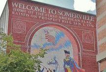 Somerville, Massachusetts / Celebrating Somerville, Massachusetts  / by C C