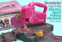 Machines Make Crafting Easy / by Simplicity Creative Group