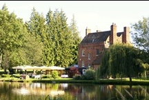 Auberge du Lac / Our award winning restaurant, the Auberge du Lac is available for private dining, weddings and exclusive use. / by Brocket Hall