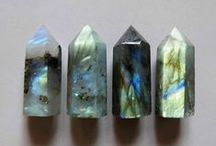 x crystals and stones x / gems, rocks, crystals, stones and semi precious stones / by Phoebe Appleby