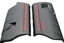 C6 CORVETTE (2005-2013) GM PARTS & ACCESSORIES / GM accessories also include some fun items that add a unique touch to your Corvette. You can find pedal covers to replace the original pedals. Fuel rail covers are another way to change the look of your LS engine. You can even find embroidered leather console covers that replace the original console that came in the Corvette. / by Corvette Mods LLC