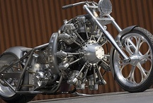steampunk motorcycles / deco liners / by Steve Rebuck