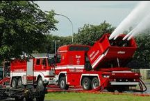 Fire Truck Madness / For my the fire truck obsessed Skyler... / by Sultan Sky