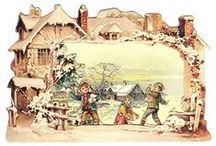 Christmas: Vintage Cards & Scenes / by Kathryn T.