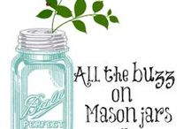 EVERYTHING IN & ON JARS! / Ball & Mason Jars And other containers. Good Food and gift ideas for holidays, celebrations and special occasions. Storage Ideas,  Recipes, DIY decorations, crafts, printable labels, gift tags, etc. / by Melody Simpler