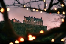 Scotland / I have also made a board dedicated to Edinburgh / by Theresa Brown