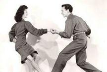 Lindy hop / ''Ok Jack, hit that jive...'' (A Groovie Movie - 1944) / by Myra Vintage