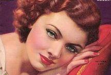 Vintage magazine covers / by Myra Vintage
