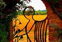 Outdoor Gates / To inspire outdoor areas / by Ann Rust
