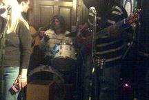 Musicians / Open Mike night network, musicians gather . http://facebook.com/Maryjanerobi / by maryjanerobi