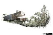 modern single family homes / by Rob DeCosmo
