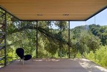 Arch./Int. - Modern Cabin  / The perfect country getaway, both inside and out. / by James Anderson