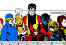 X-MEN, ENEMIES AND ALLIES / by Nicolas Artiganave
