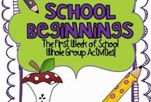 Back to School Ideas / by Jeanette Rivera