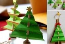 Christmas Art Ideas / by Jeanette Rivera