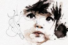 arte - ilustracion / by Audry Uzcategui