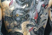 kamikase Tattoos / Oriental style Tattoo  / by Guz Ferreiro