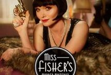 miss fisher's murder mysteries / by Elly van Ameijde