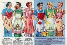 APRON STRINGS / STILL TIED TO MY MOTHER'S APRON STRINGS! / by Caroline