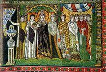 Roman & Byzantine Mosaics / The mothers of Western Civilization in mosaic art.  / by Aubri De Baudricourt