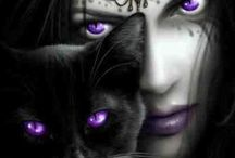 fantasy&gothic& some wiccan / by Dorz Kingsley