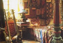 Bohemian Eclectic Decor Ideas / Beautiful bohemian decoration ideas, homes to view and all eclectic goodies available on Pinterest.  / by Desiree Dex Mitchell