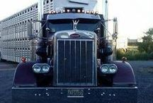 Custom Semi Trucks: Bad Ass Big Rigs / Custom semi trucks: chrome, cool, and low baby.... that's how we like 'em! The down right nasty, bad ass big rigs, too! / by Smart Trucking