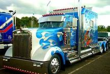 Custom Rigs: Big Trucks Custom Paint / A collection of semi trucks with unique paint jobs. / by Smart Trucking