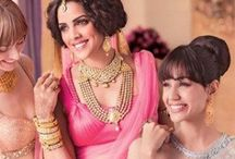Indian Couture / Beautiful #sarees, #suits, #lehengas, #anarkalis and exquisite indian jewellery  / by Harman Kaur