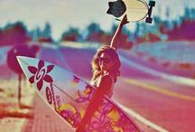 surf skate snowboard! / Paradise!! / by claire Delune