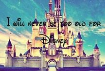Disney / Disney is my love. Disney is my passion. I dream about being a Walt Disney World Cast Member!! It all started with a mouse.-Walt Disney Your never too old for Disney!! / by Brianna Pitts