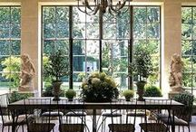 Dream Home / dark wood, crisp white, big ole windows and porches galore! / by Marley McCarthy