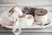 ∘ Crafts ∘ / ⋆ Beautiful Ribbons, Yarns,  Perfect Wrapping Ideas,  All about Crafts etc. ⋆ / by Aidafoun