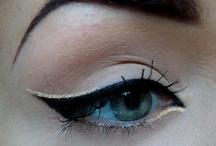 Cool Eye Makeup / by Trinnie Velasquez