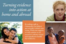 International Contraceptive Use & Services / by Guttmacher Institute