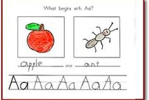 Alphabet and Sound Activities! / Lots of goodies here for making books and having fun with letters! / by KinderLit