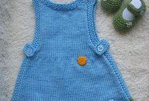 Vestidos niña / Tejidos en crochet / by Quena Marco