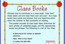 Class Books / Your children can make these books to add to your classroom library! / by KinderLit