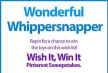 Wish It, Win It: Wonderful Whippersnapper / Wish It, Win It Pinterest Sweepstakes! Repin the main graphic from your favorite Wish It, Win It Kaplan Toys Pinterest board for the chance to win ALL of the items featured there! One lucky winner will be announced on Nov. 24th. / by Kaplan Toys