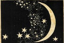 ༺♥༻Under the Moonlight༺♥༻ / ☾ ● ◯  Moon and Stars ☆☆ / by ✿ᏕᏂÅᏒᎤᏲ ✿