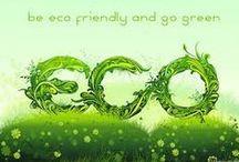 ☮ Go Green ☮ / by Sophia M.