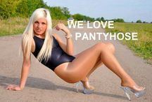 Outdoors in Pantyhose / by J. B.