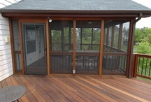 SCREENED PORCHES/PATIOS / by Mrs. Jimmy Page