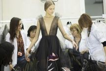 Backstage / Fashion Weeks: start from Spring Summer 2014   / by Elsa Chan