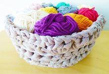 T-shirt Yarn Crochet / by Mar Arr