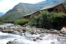 Maliba River Lodge / 3 star, self catering cottages on the banks of the river.  / by Maliba Lodge, Lesotho